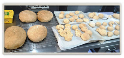Bread Baking for Afternoon Snack