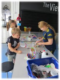 Art & Crafts - indoors station