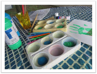 Arts & Crafts - outdoors summer cones