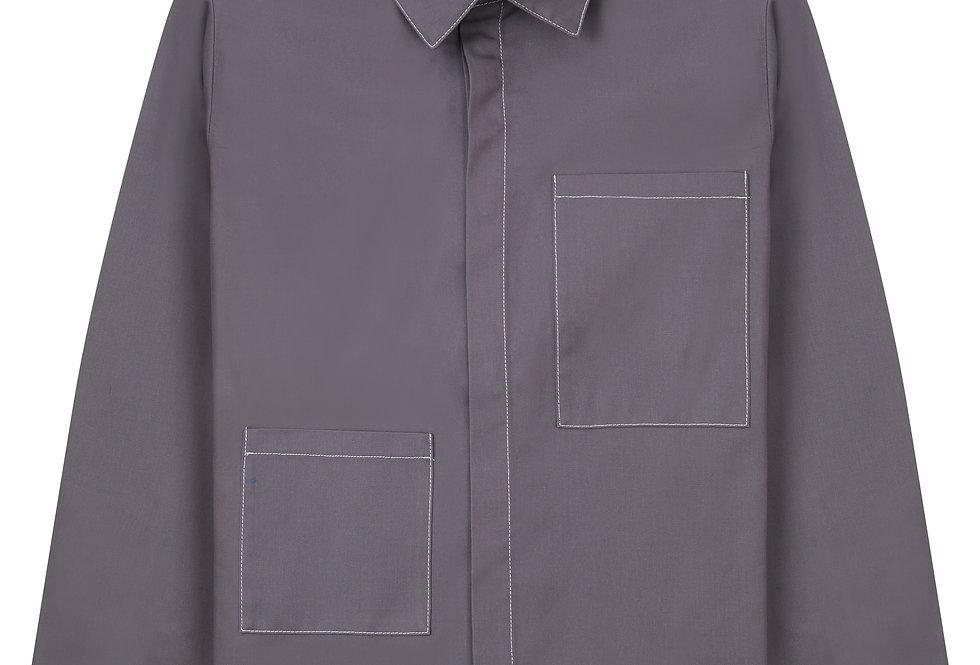 Slate Grey Overshirt