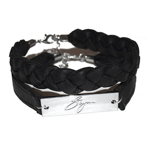Leather Bracelet Duo