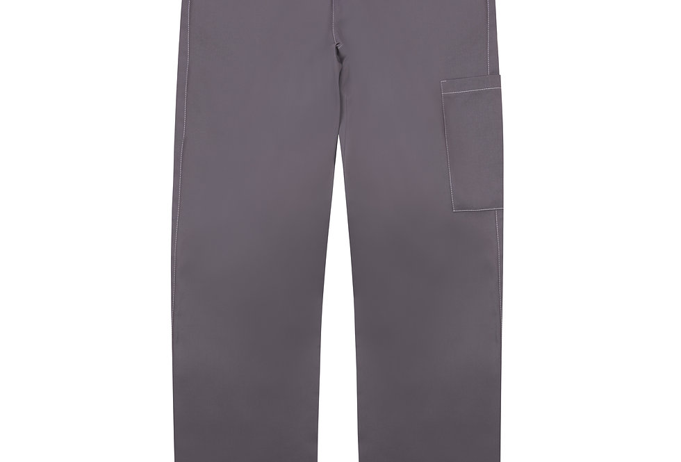 Slate Tapered Cargo Trousers