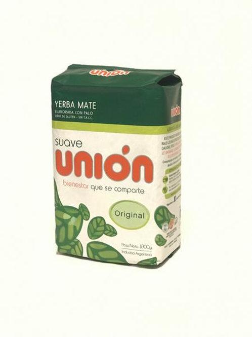 Union yerba mate con palo/Suave (1 kg)