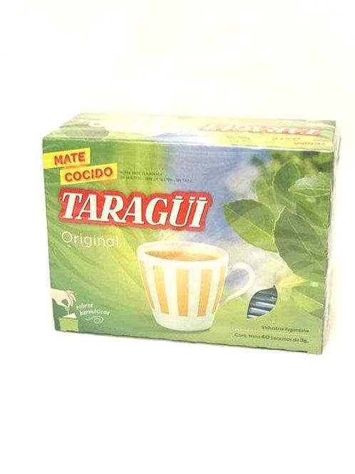Taragüí yerba mate tea bags (40 count)