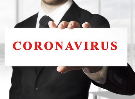 Coronavirus – Because We Care, We'll Prepare