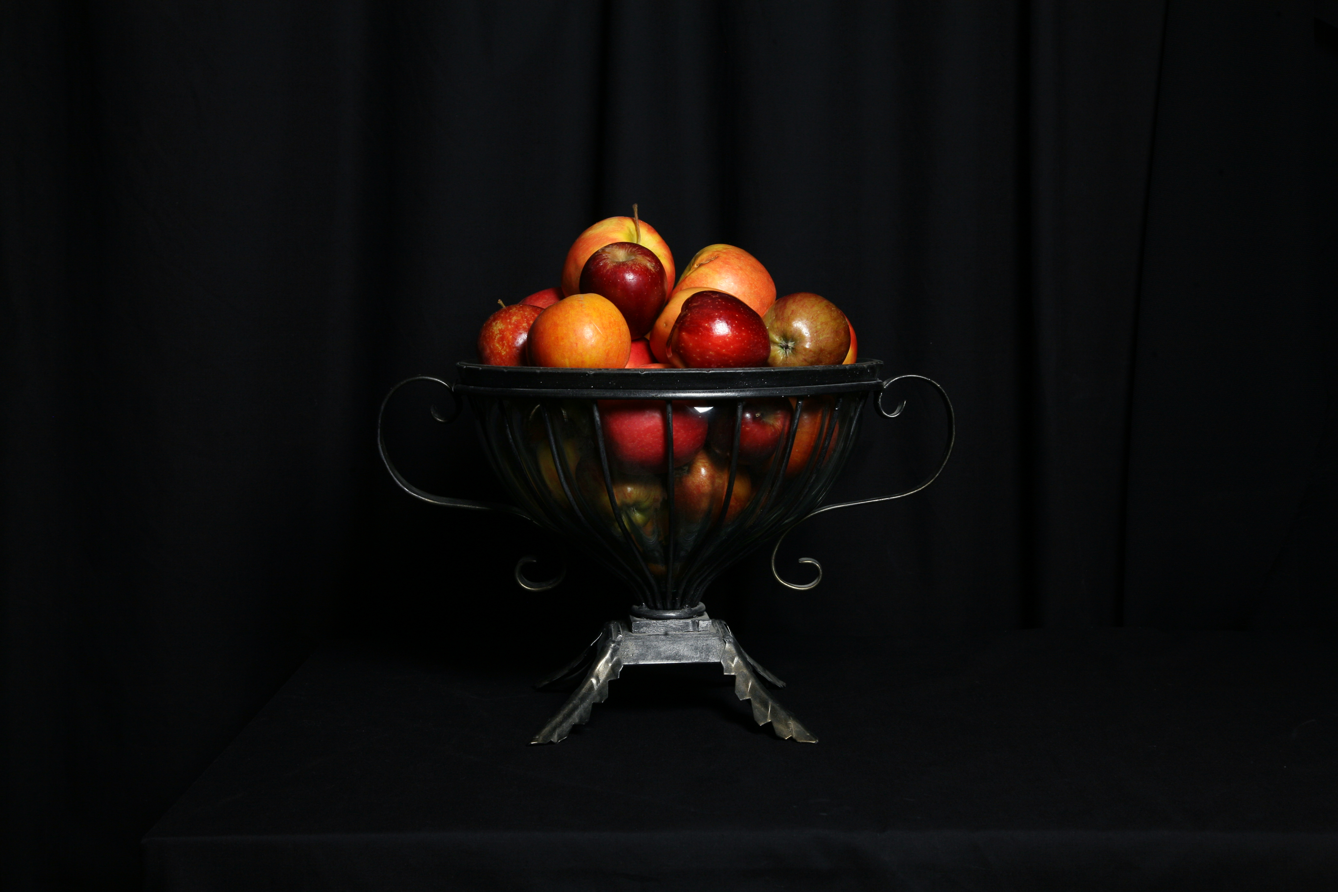 Still Life With Apples but No Orange