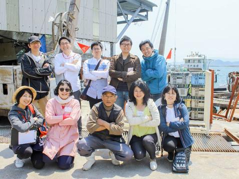 SOUL OF 牡蠣 ~かき工場見学&かき打ち、かき船体験~
