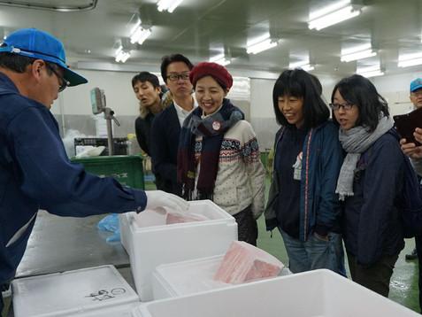 ジン大の社会科見学シリーズ #18 広島市中央卸売市場