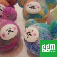 【ggm】羊毛フェルトでポンポンボール作り