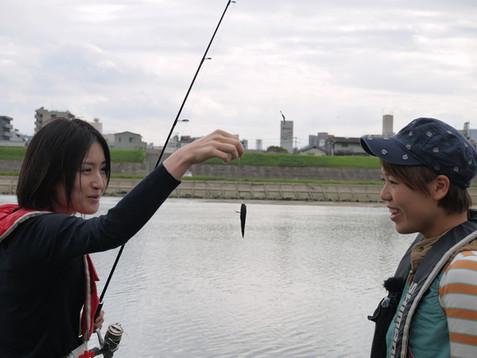 ジン大の釣りに行こう!~太田川ハゼ釣り編~