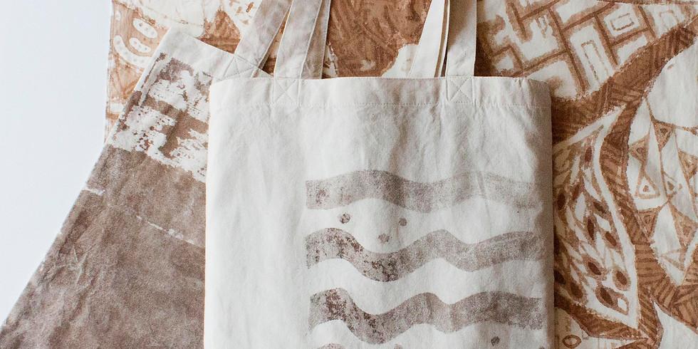 【まるごとマチゴト】オリジナルバッグ作り ~コーヒー染め・ワークショップ~