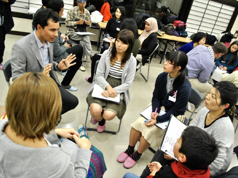 HIROSHIMA ワールドトーク ~「平和」を考える新たな視点~
