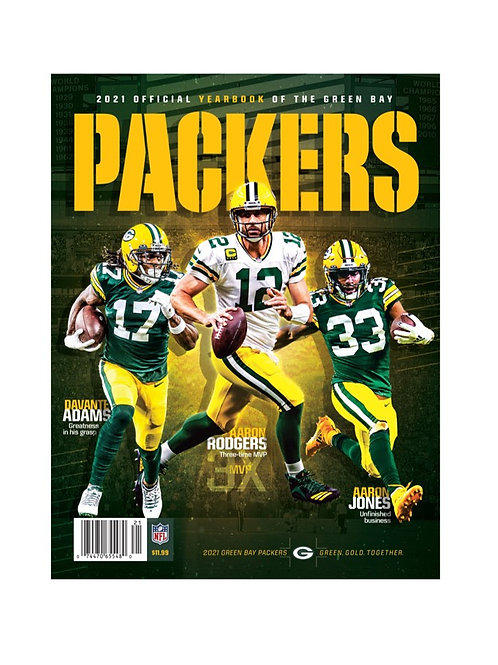 2021 Green Bay Packers Yearbook