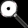 magnifying glass _ transparent backgroun