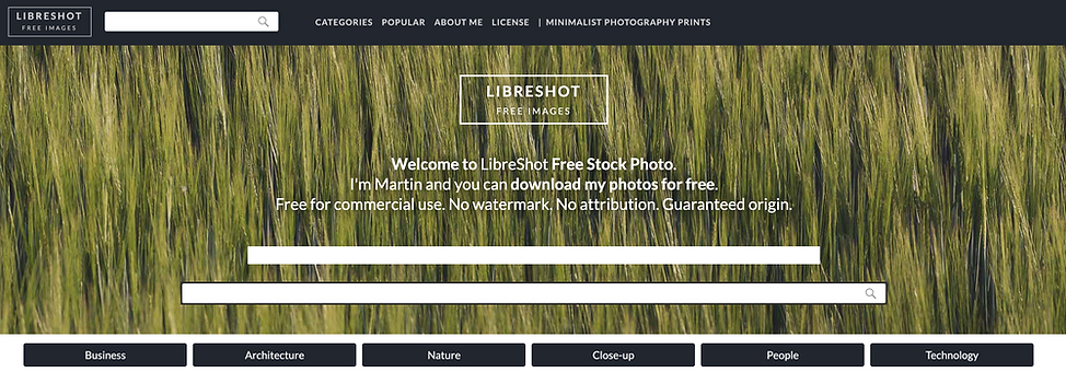 libreshot website review.png