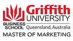 Griffith University Master of Marketing.