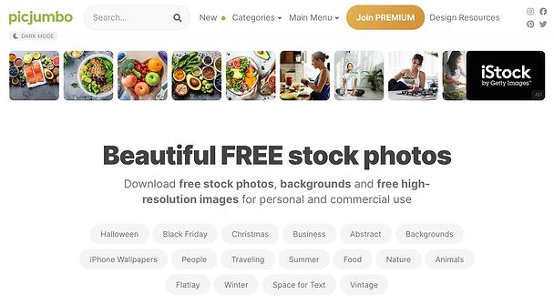 PicJumbo webstie review.png