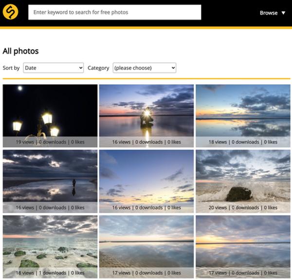 Skitterphotos website review
