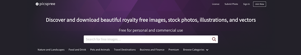 picspree stock images website review.png