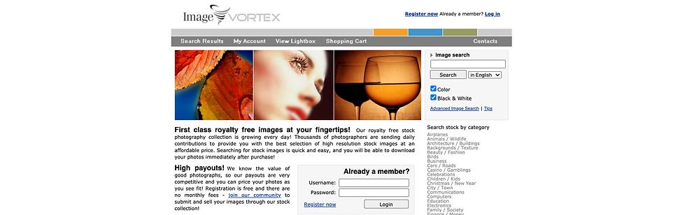 image vortex stock photo website review.