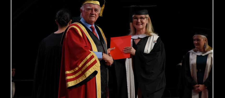 It's not every day you get awarded with a Master of Marketing 👩🎓 from a prestigious university!