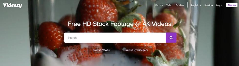 Videezy stock footage video website revi