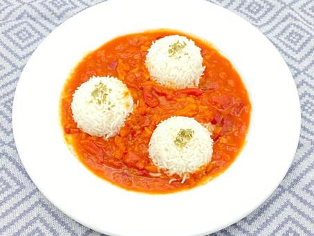 Letscho mit Reis