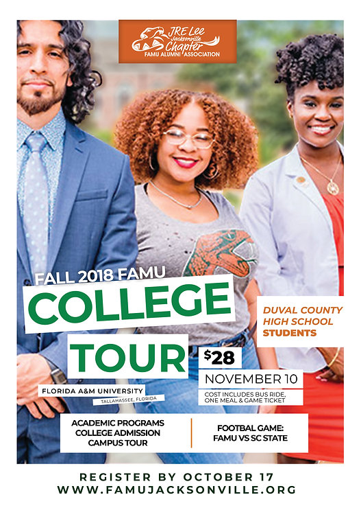 Fall 2018 College Tour - JRE Lee Jackson