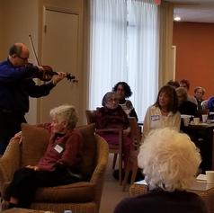 Klezmer Violinist Steve Greenman
