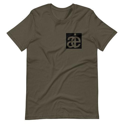 AIE classic unisex t-shirt. Green.