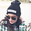 Thumbnail: ARTISEVERYTHING. Embroidered beanie/ tuque. Black.