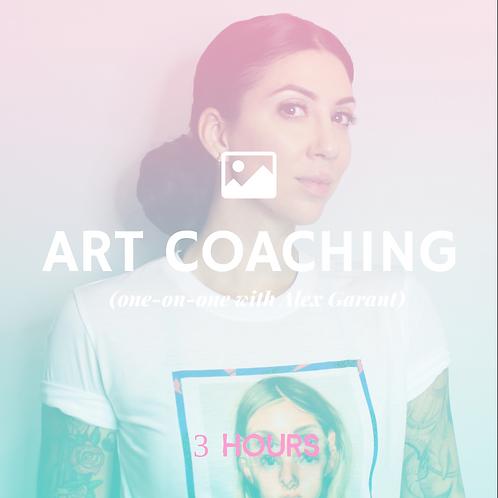 Art Coaching- 3 hour pack