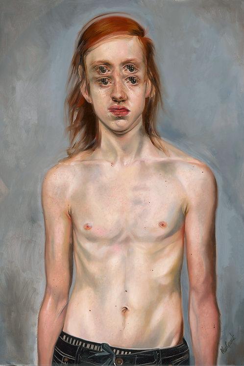 BOY WONDER - Original Painting