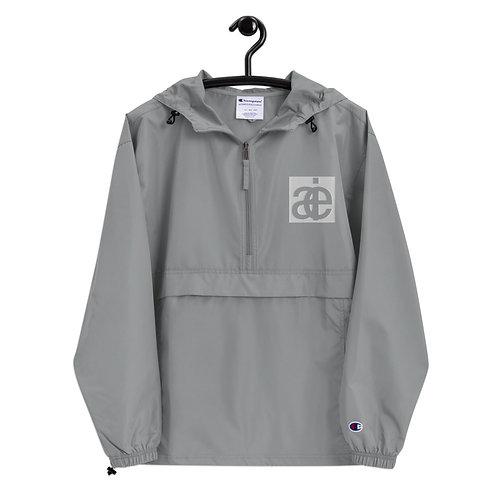 AIE & Champion collab. Logo jacket. Grey.