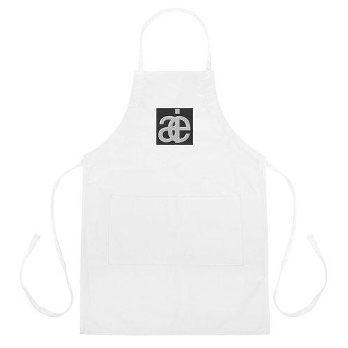 Classic studio apron. White.