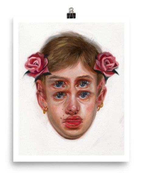 "Limited & Signed Art Print 8""x10"" 
