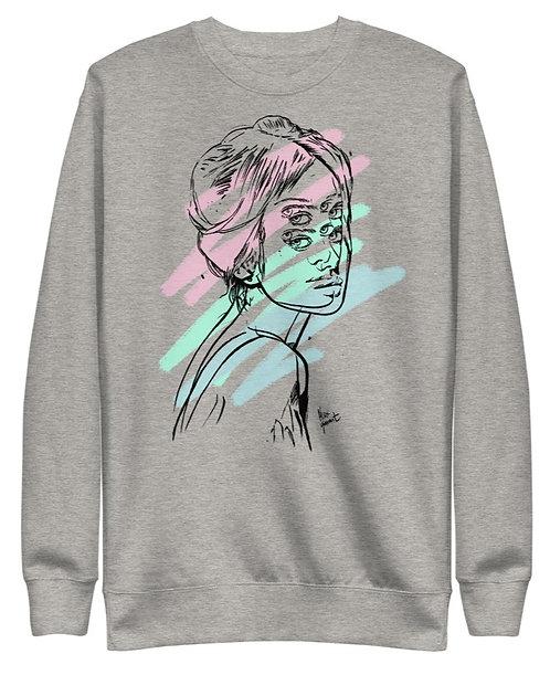 Alex Garant Unisex Fleece Sweatshirt - Grey or White