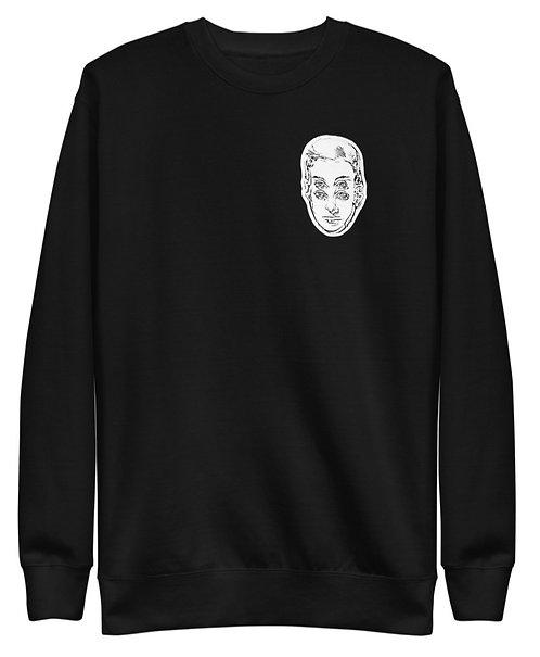 """""""I Support Artists"""" Unisex Fleece Sweatshirt"""