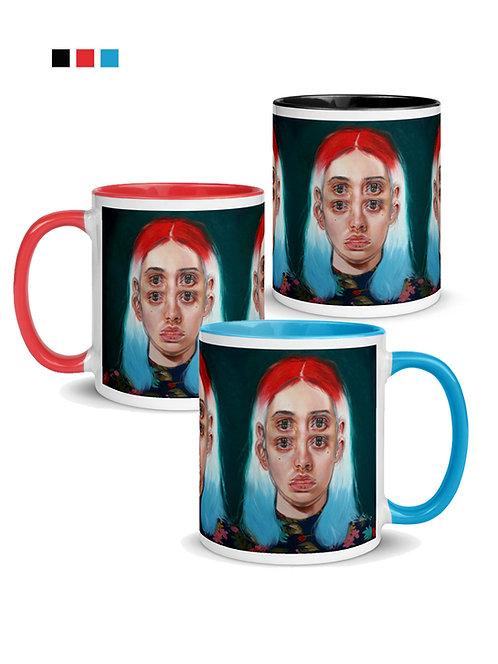Rocket Pop Ceramic Mug:  Pick your Colour!