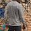 Thumbnail: AIE logo & back text. Long sleeve tee. Grey.