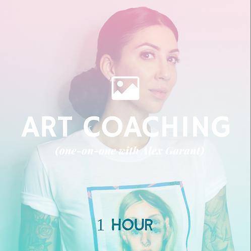 Art Coaching- One hour