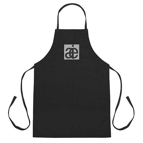 Classic studio apron. Black.