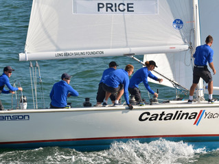 CYCA CREW COMPLETE A CREDIBLE RESULT AT THE CONGRESSIONAL CUP