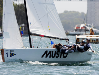 BACK TO BACK TITLES FOR PRICE AT THE MUSTO INTERNATIONAL YOUTH MATCH RACING CHAMPIONSHIP