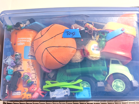 Parenting Trick: The Disappearing Toy Bin