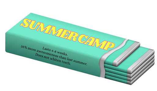 You are a Summer Camp, Not a Pack of Gum