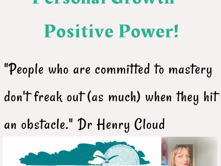 Personal Growth = Positive Power!