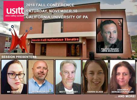 Fall Conference 2018 at California University of Pennsylvania: Registration Open