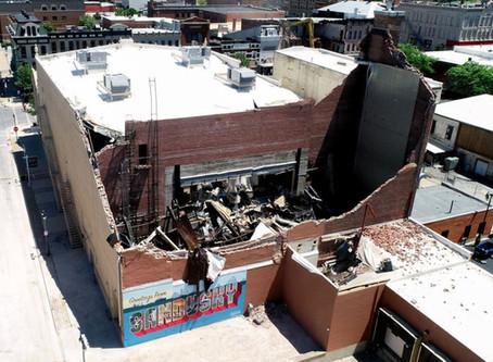Sandusky State Theatre Heavily Damaged