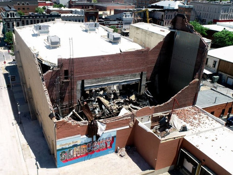 Sandusky State Theatre Heavily Damaged